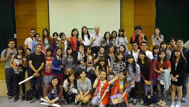 名人演講活動結束囉,感謝全校師生的踴躍參與!